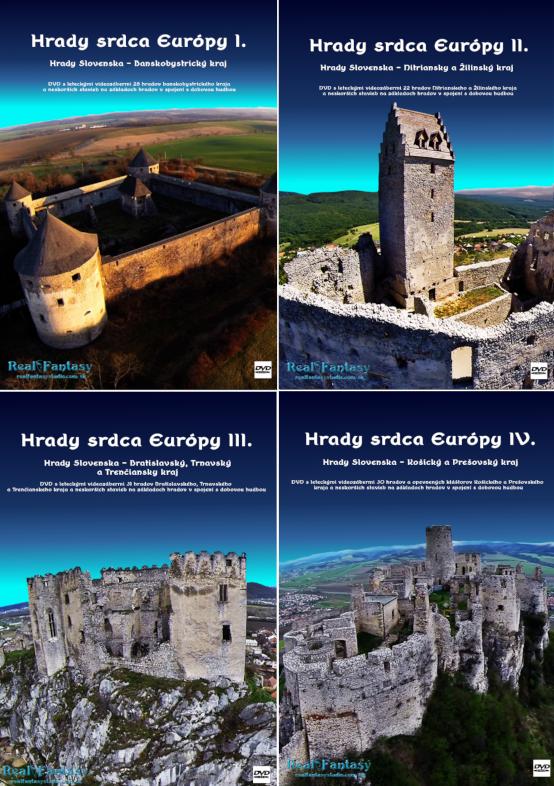 DVD Hrady Slovenska